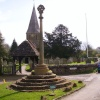 St. James Church and War Memorial, Shere, Surrey