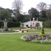 Formal garden at Mount Edgcumbe, Cornwall