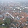 York from the tower of York Minster