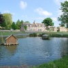 Duck pond & village green