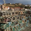 Lobster Traps at Whitby