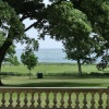 View to the North sea from Sewerby hall