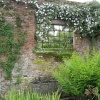 A quiet corner at Sissinghurst castle gardens