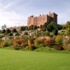 Powis Castle in Autumn