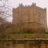 Durham Castle in winter