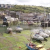 The oozy splendour of Mevagissey's harbour