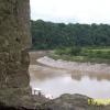 The River Wye from Chepstow Castle