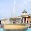 Fountain, Trafalgar Sq.