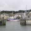 Jubilee Queen moored up in Padstow harbour