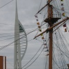 Spinnaker Tower/HMS Warrior