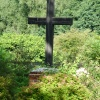 The cross at the start of the road to St Margaret's Church, Syleham (Wingfield / Brockdish)