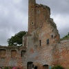 Caister Castle Ruins taken on Rainy day August 2008