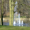 The fountain, Roundhay Park, Leeds.