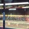 Bicycles at Woking Railway Station