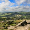 Panorama from Curbar Edge