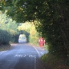Up Nately Crossroads & Phone Box