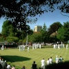 Bowls tournament at Sandwich, Kent