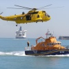 Dover Regatta Air-Sea Rescue display.
