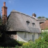 Thatched and tiled cottage
