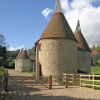 Oast Houses in the grounds of Chartwell, Kent