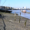 River frontage at Deptford