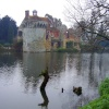 Is that the Scotney Castle monster in the lake ?