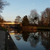 Evening at Sprotbrough lock