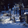 Snow in St Margaret's Churchyard, Rainham, Kent