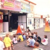 Punch and Judy show on Great Yarmouth Pier