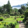 The gardens of Brodick Castle