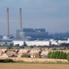 View of Tilbury power station from Chalk