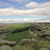 Stanage Limestone Edge.
