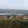 Blagdon village and lake