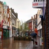 King's Lynn in the rain.