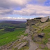 Stanage Edge Rocks.