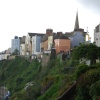 A wet day in Tenby July 2008