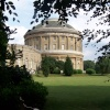 Ickworth House through the tree's