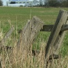 Old fence at Ulley