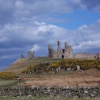View of Dunstanburgh Castle from Craster