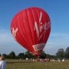 Virgin hot air balloon