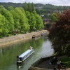 The river Avon in Bath.