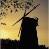 The Windmill at Sunset