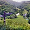 Monsal  Dale with signpost