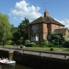 Shiplake Lock and Lock-Keeper's House