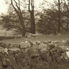 Obligatory sheep in Sepia at Castle Bolton, North Yorkshire