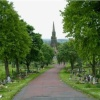 Elswick Cemetery from the main gate