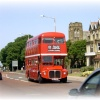 Ex London bus in St Annes