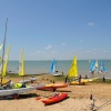 Gurnard beach over looking Solent - May 2009