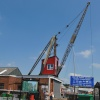 East Cowes Dock Crane  - May 2009