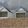 Beach huts at Norman's Bay